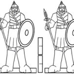 Brilliant David And Goliath Lesson For Kids  Better Bible Teachers With Regard To David And Goliath Worksheets Kindergarten