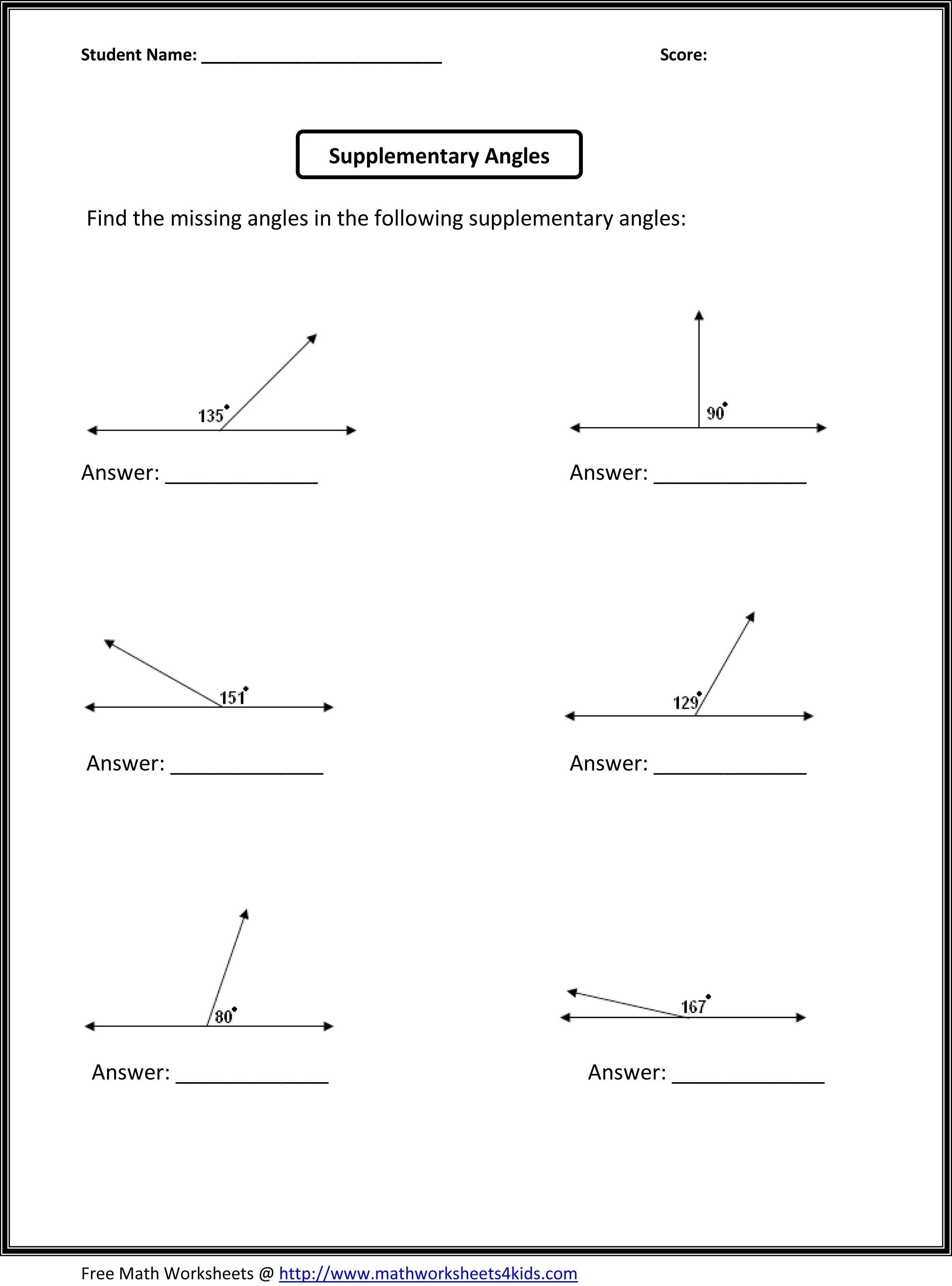 Bunch Ideas Of High School Geometry Worksheets With Answers On Free Intended For Free Geometry Worksheets For High School