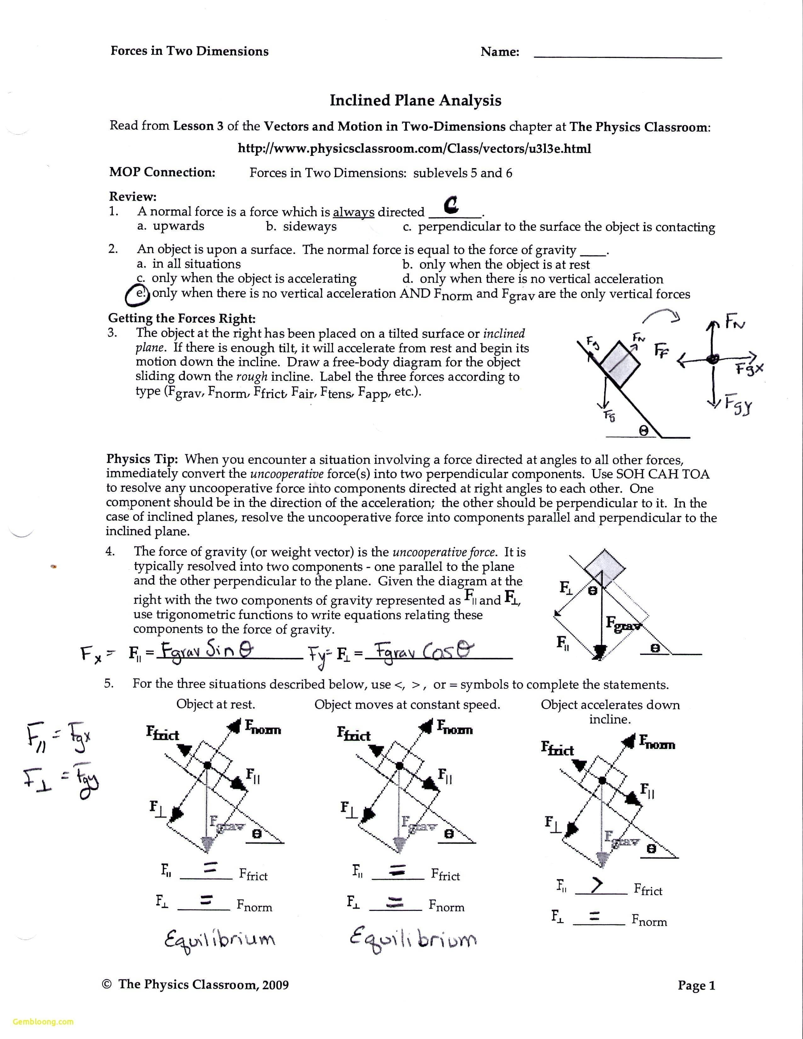 Chemical Equilibrium Worksheet Answers  Cramerforcongress Also Weight Friction And Equilibrium Worksheet Answers