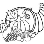Coloring Ideas  Coloring Pages Of Thanksgiving Print Color Craft As Well As Thanksgiving Worksheets For Preschoolers