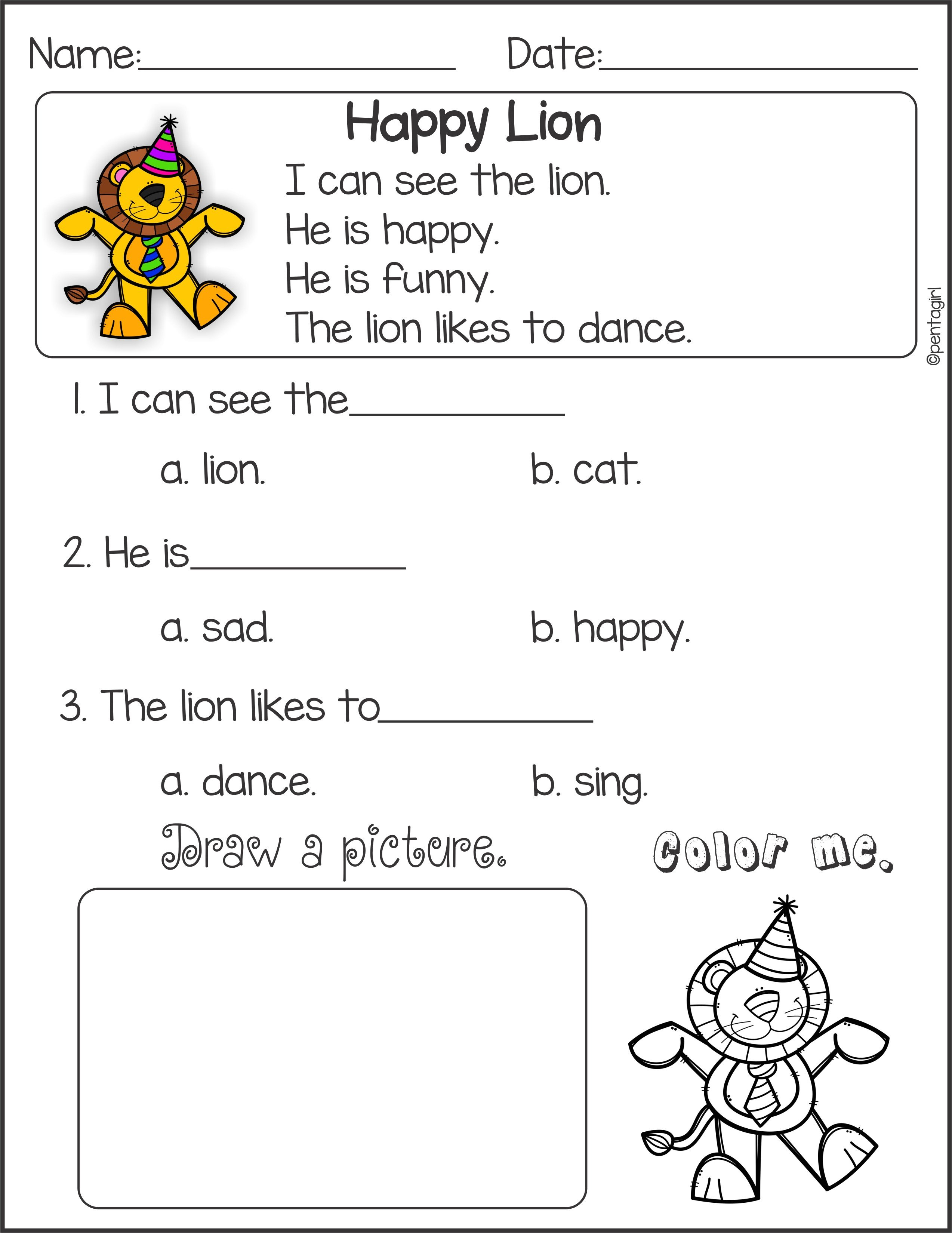 Common Core Subtraction Worksheets Page 3  Free Printable Reading Or Comprehension Worksheets For Grade 1 Free