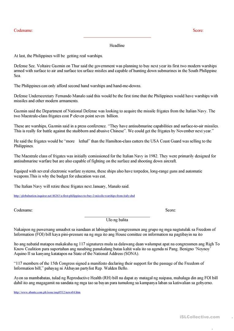 Copyreading Exercise Worksheet  Free Esl Printable Worksheets Made With Copy Editing Practice Worksheets
