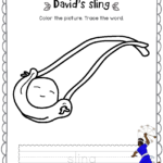 David  Goliath Activity Book Kids Ages 35 – Bible Pathway Adventures Pertaining To David And Goliath Worksheets Kindergarten