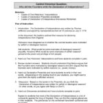 Declaration Of Independence  Home  Stanford History  Pages 1 Or Declaration Of Independence Worksheet Answers