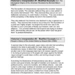 Declaration Of Independence  Home  Stanford History  Pages 1 With Declaration Of Independence Worksheet Answers