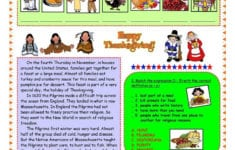 English Esl Thanksgiving Worksheets  Most Downloaded 138 Results for Esl Thanksgiving Worksheets Adults