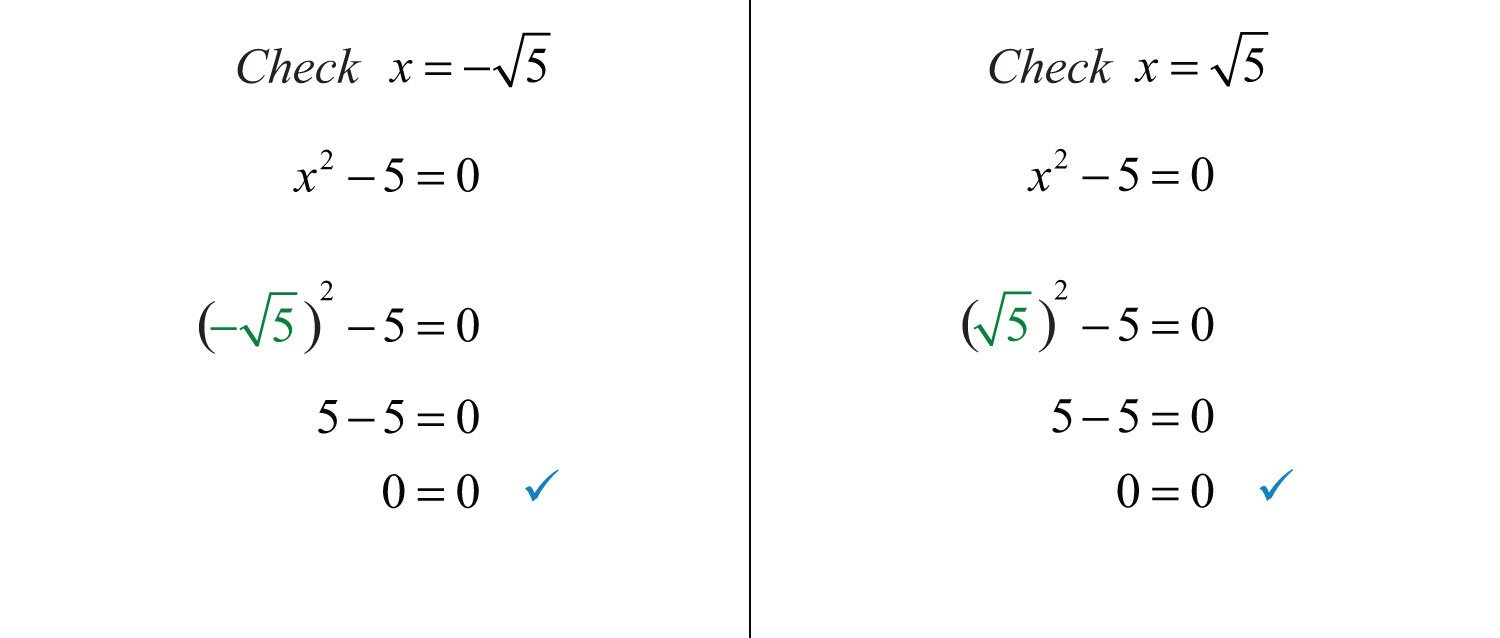 Extracting Square Roots And Square Roots Worksheet Answers