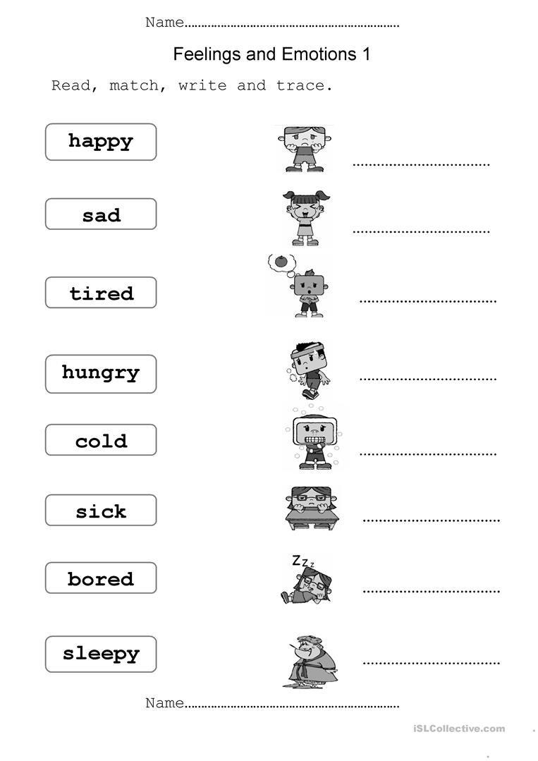 Feelings And Emotions Worksheet  Free Esl Printable Worksheets Made Also Feelings And Emotions Worksheets Printable