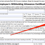 Figuring Out Your Form W4 How Many Allowances Should You Claim As Well As Personal Allowances Worksheet Help