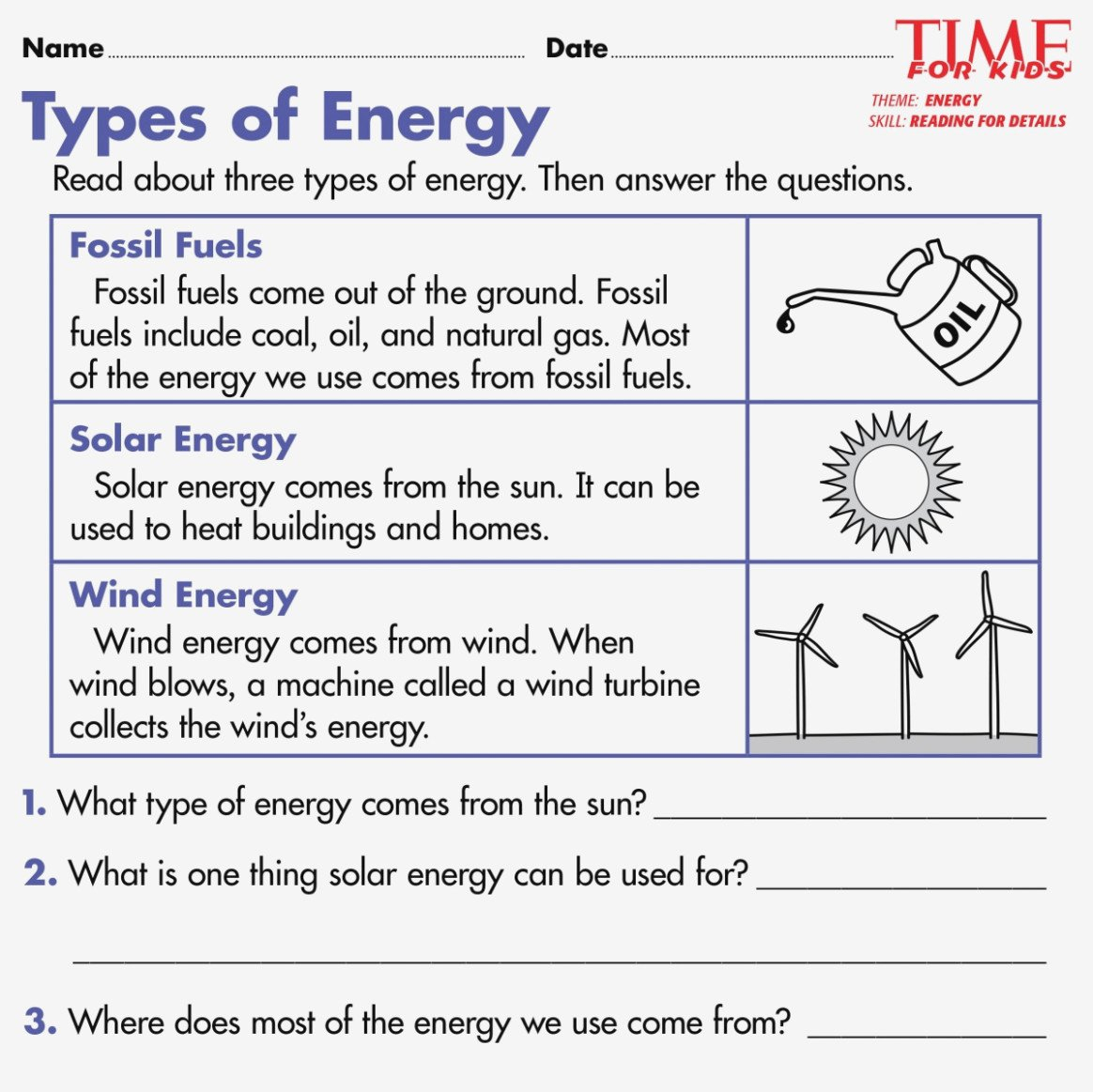 Free Esl Energy Worksheets Forms Of Worksheet First Grade – Jetxs With Forms And Sources Of Energy Worksheet Answers