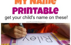 Free Name Tracing Worksheet Printable  Font Choices in Custom Name Tracing Worksheets