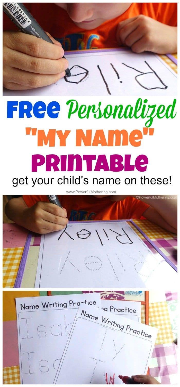 Free Name Tracing Worksheet Printable  Font Choices In Custom Name Tracing Worksheets