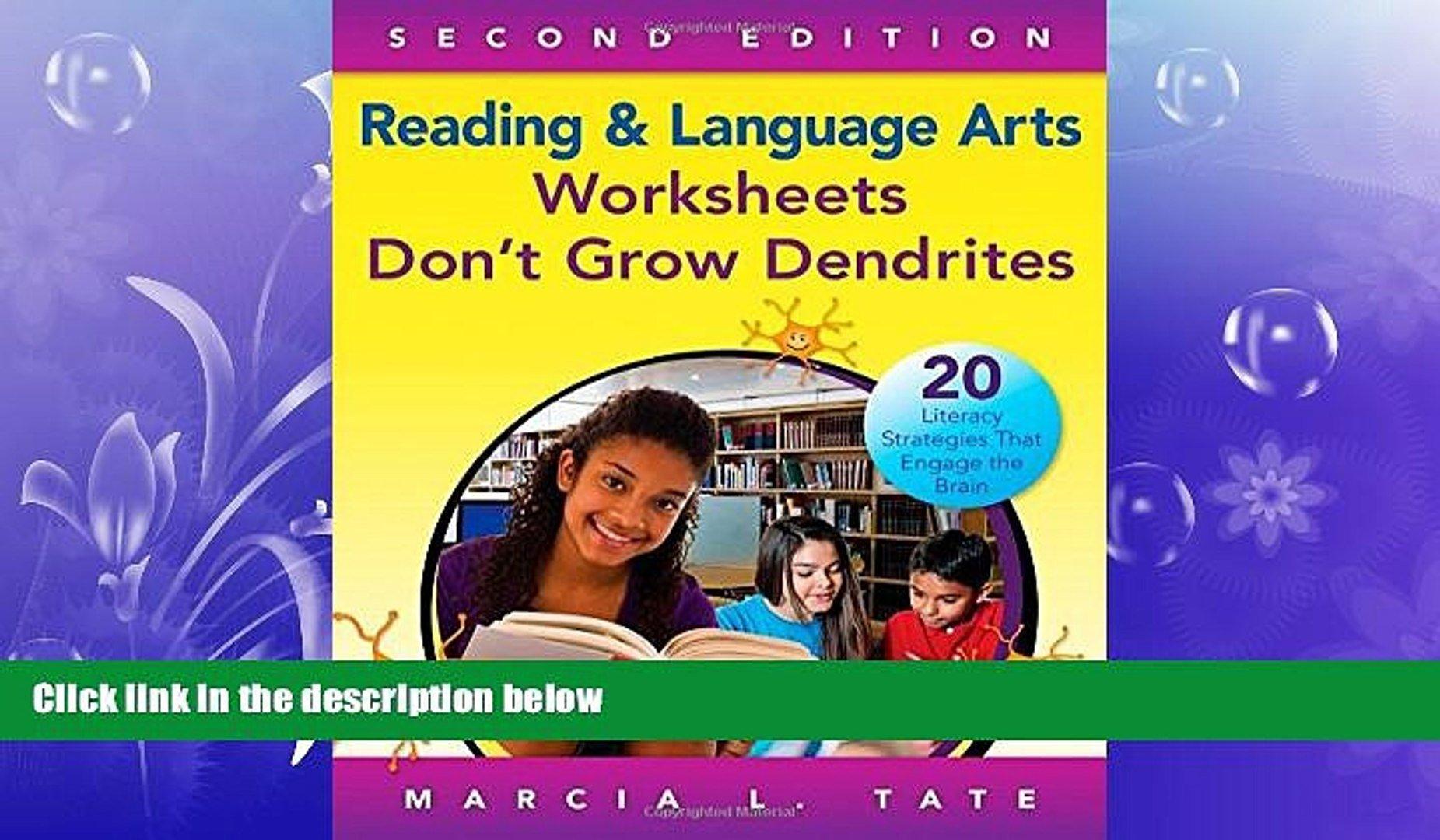 Free Pdf Downlaod Reading And Language Arts Worksheets Don T Grow As Well As Worksheets Don T Grow Dendrites Pdf