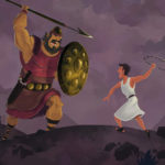 Free Printable David And Goliath Bible Activities On Sunday School Zone Together With David And Goliath Worksheets Kindergarten