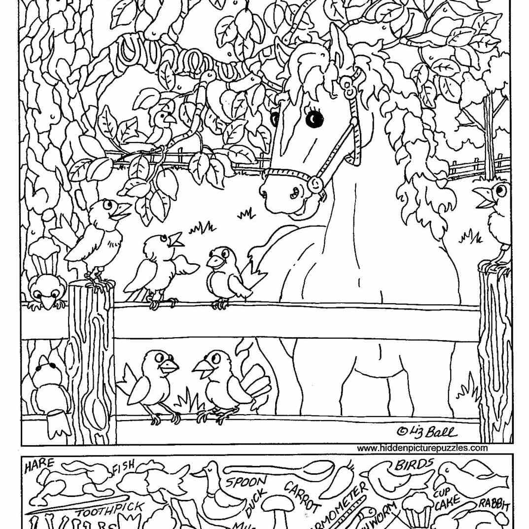 Free Printable Hidden Picture Puzzles For Kids With Highlights Hidden Pictures Printable Worksheets