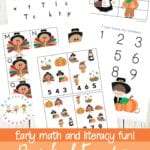 Free Thanksgiving Printable Activities For Preschoolers Inside Thanksgiving Worksheets For Preschoolers