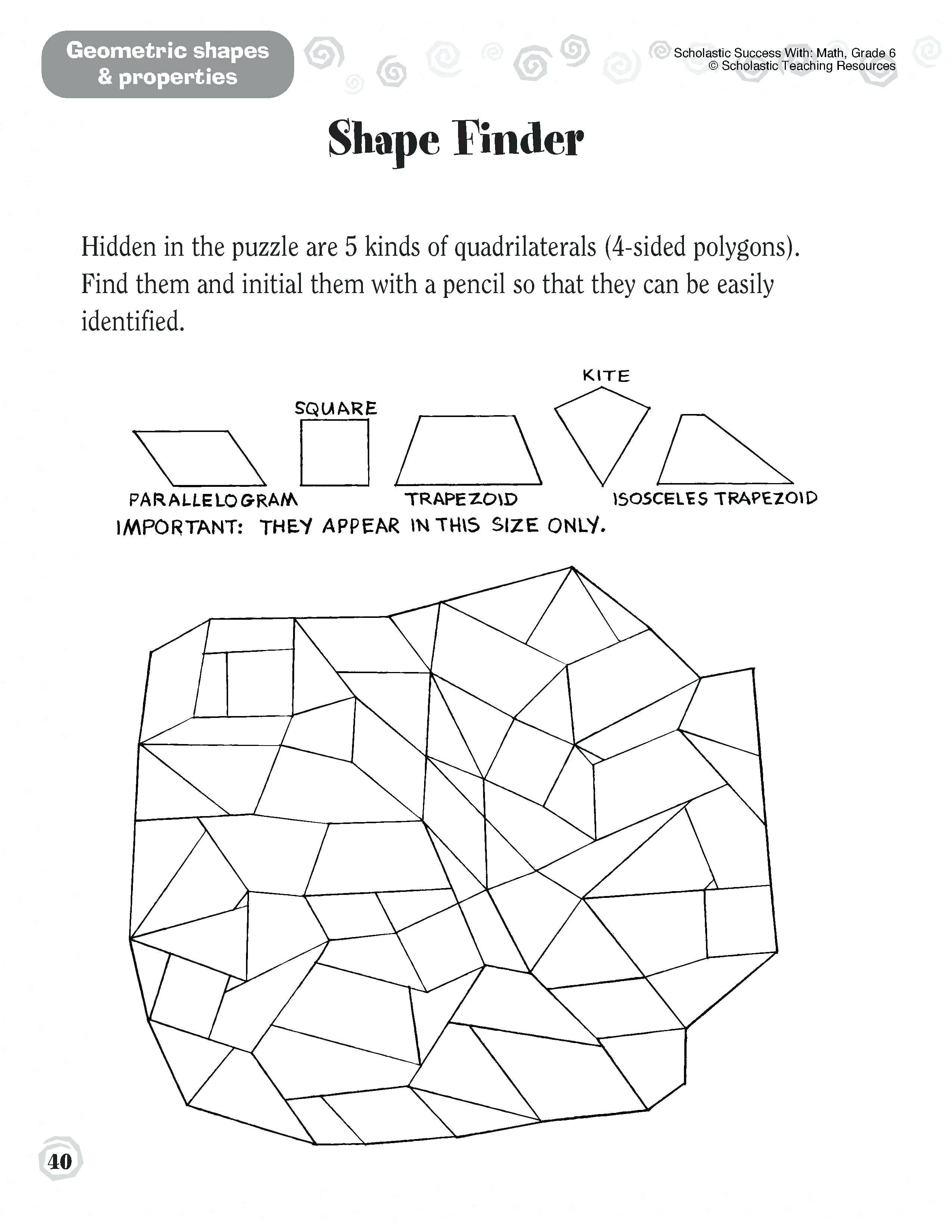 Geometry Puzzles Math High School Geometry Worksheets Astonishing With Regard To Free Geometry Worksheets For High School