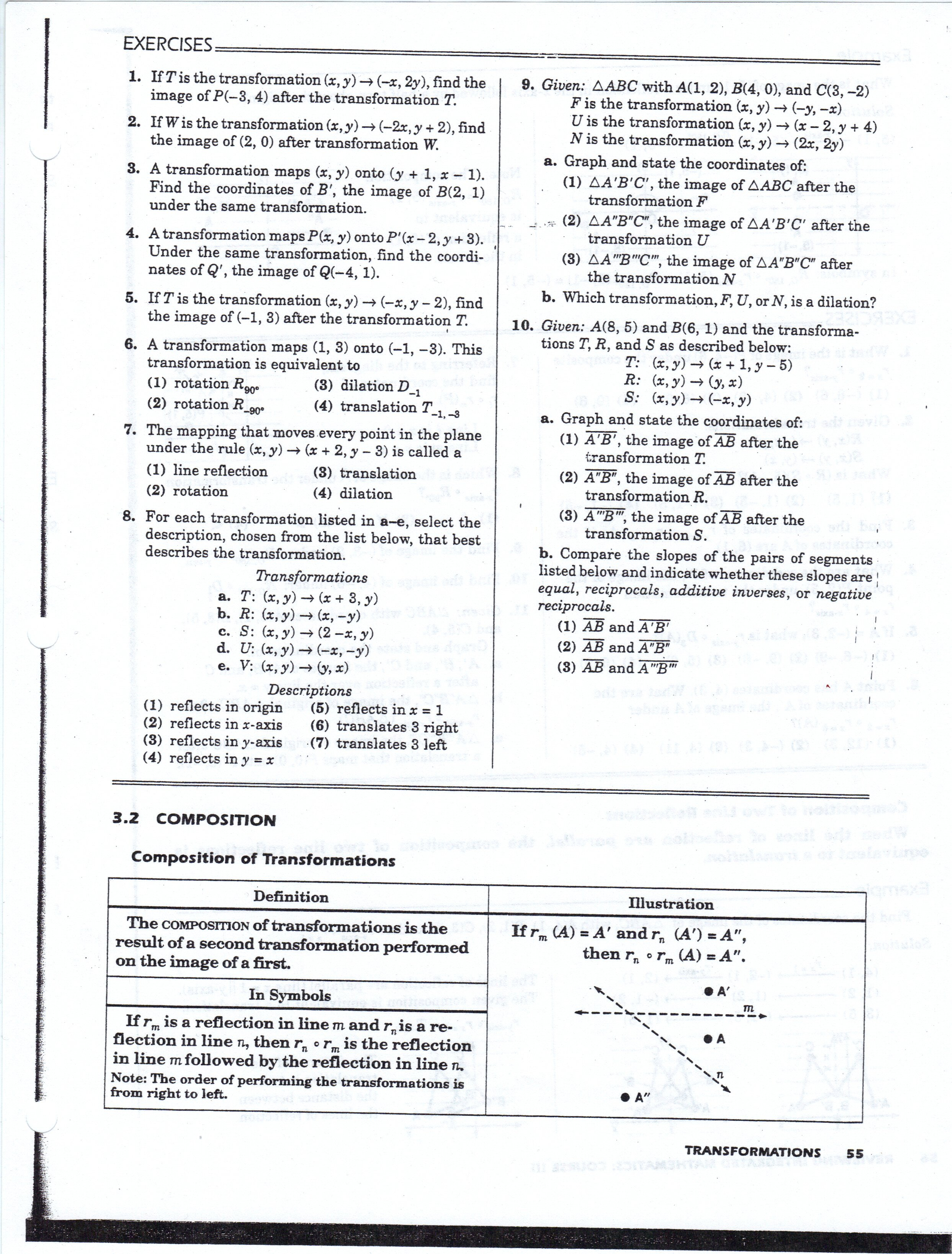 Geometry Worksheets  Mhshs Wiki And Patterns And Inductive Reasoning Worksheet And Answers