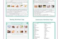 Healthy Lifestylenutrition Readingconversationwriting Worksheets or Reading And Writing Worksheets
