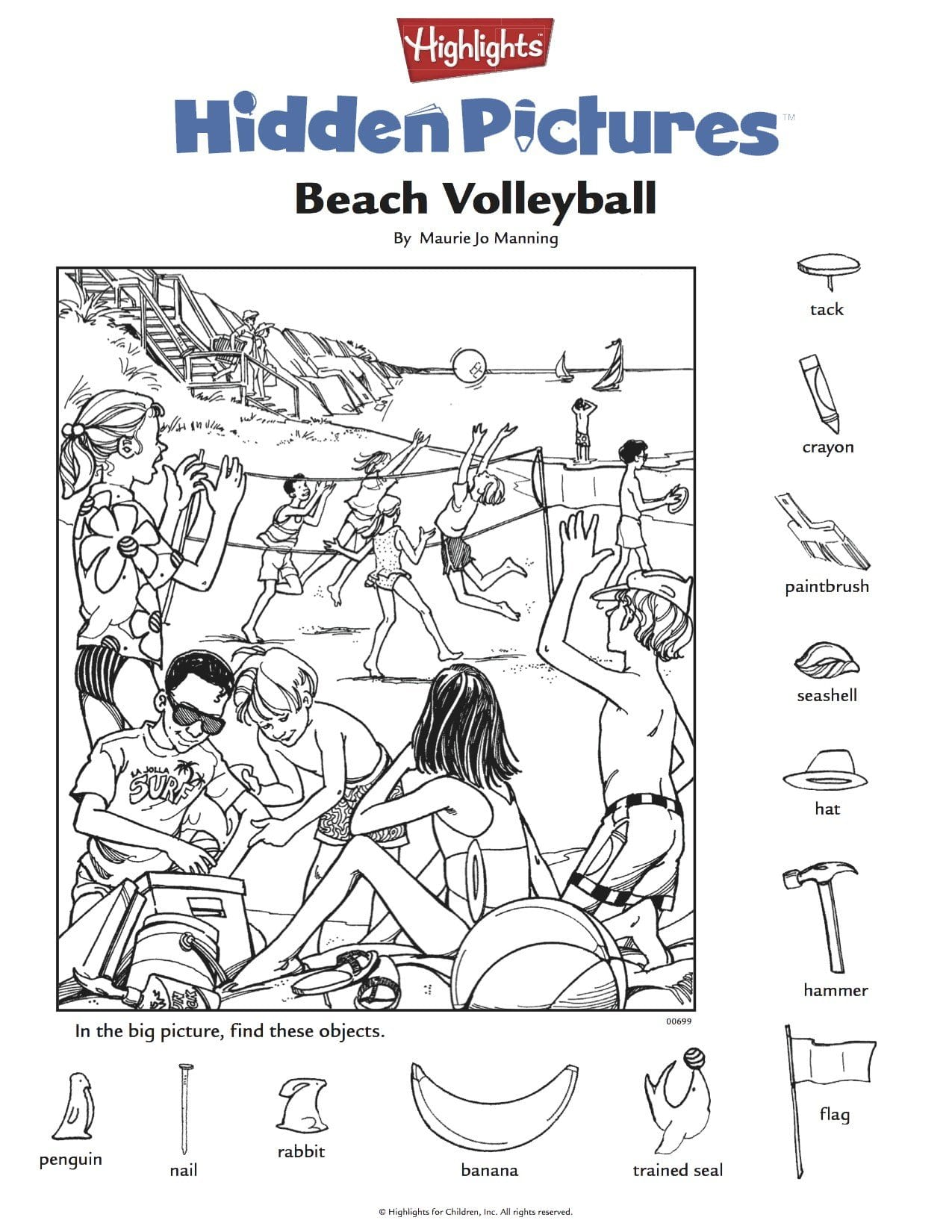 Highlights Hidden Pictures Printable – Printall Throughout Highlights Hidden Pictures Printable Worksheets