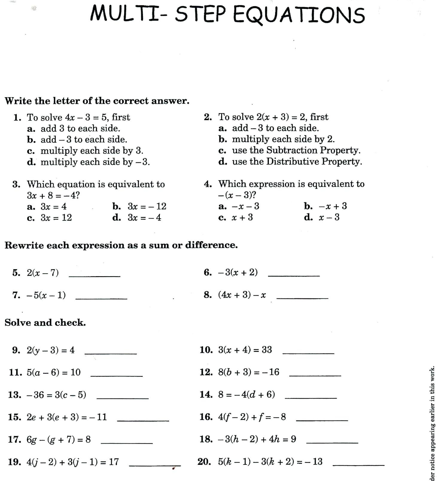 How Do You Solve Polynomials Math Math Solving Polynomial Equations With Regard To Solving Polynomial Equations Worksheet Answers