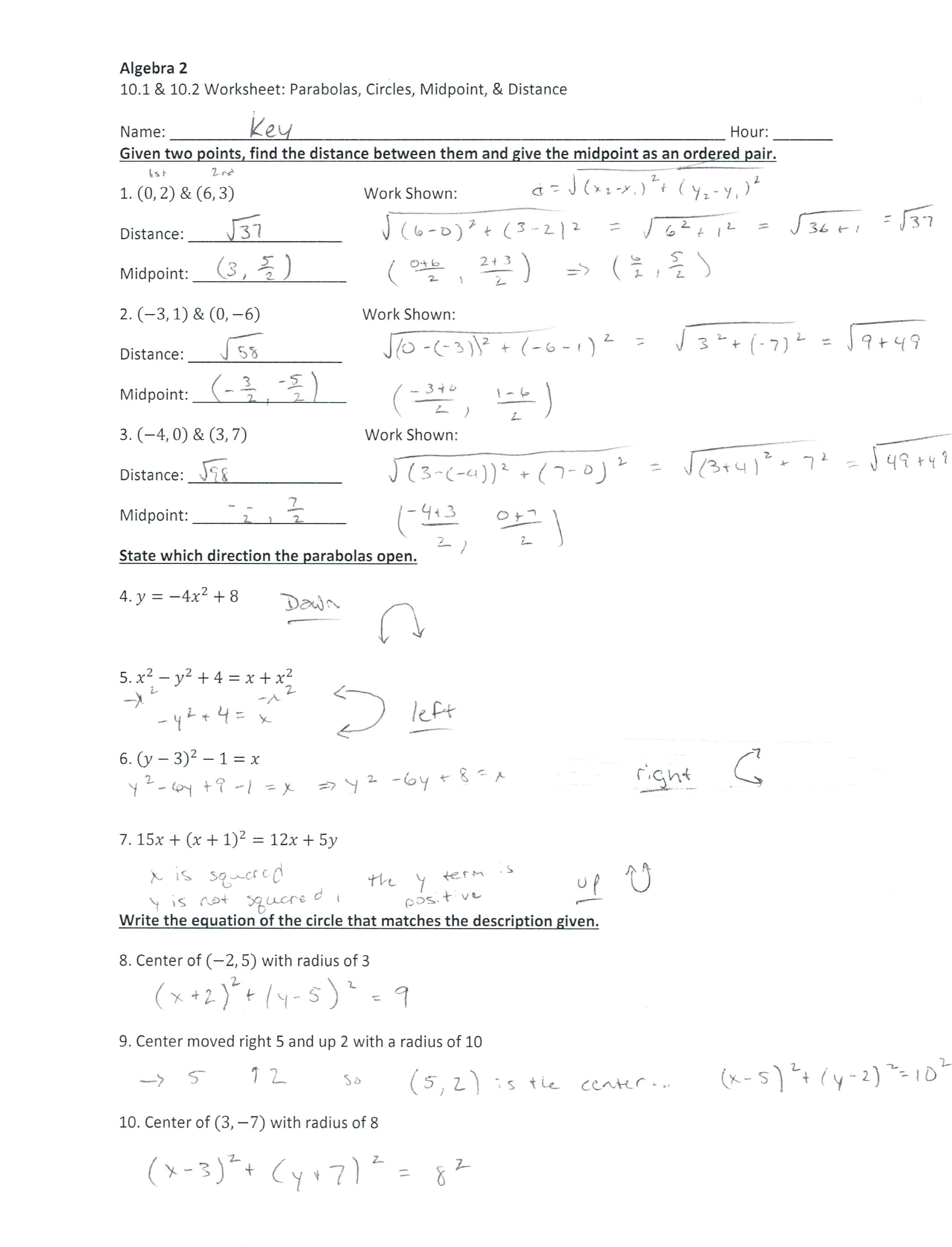 How To Find Distance And Midpoint Math Best Ideas Of Distance And Within Distance And Midpoint Worksheet Answers