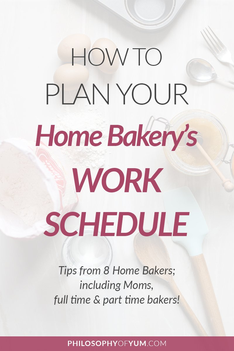 How To Plan Your Home Bakery's Weekly Work Schedule  Philosophy Of With Regard To Building A Bakery Worksheet Answers
