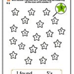 I Spy Numbers Worksheets For Kids 3 Yrs And Above  Number With Preschool Worksheets Age 3