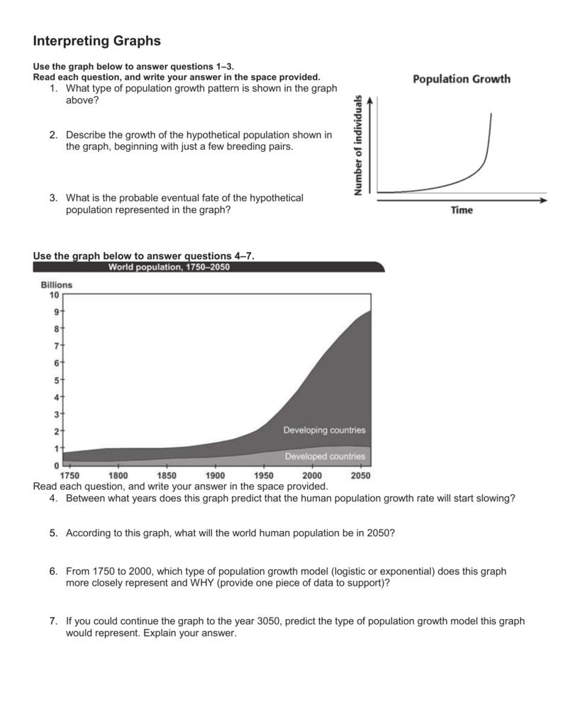 Interpreting Graphs Together With Interpreting Graphs Worksheet Answer Key