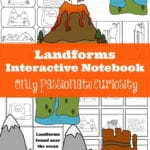 Landforms Interactive Notebook Pack  Only Passionate Curiosity Regarding Free Printable Landform Worksheets