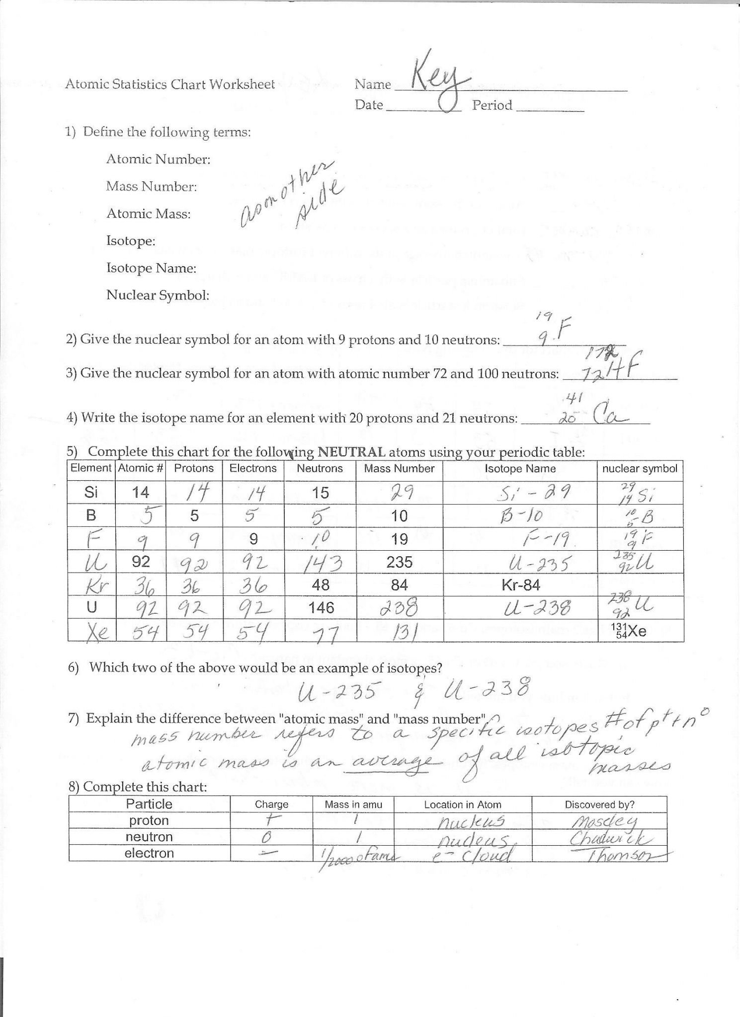Light Waves Chem Worksheet 5 1 Answer Key — excelguider.com