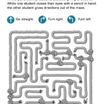 Maze Directions Worksheet Can You Advance Through The Maze  All Esl As Well As Following Directions Worksheet