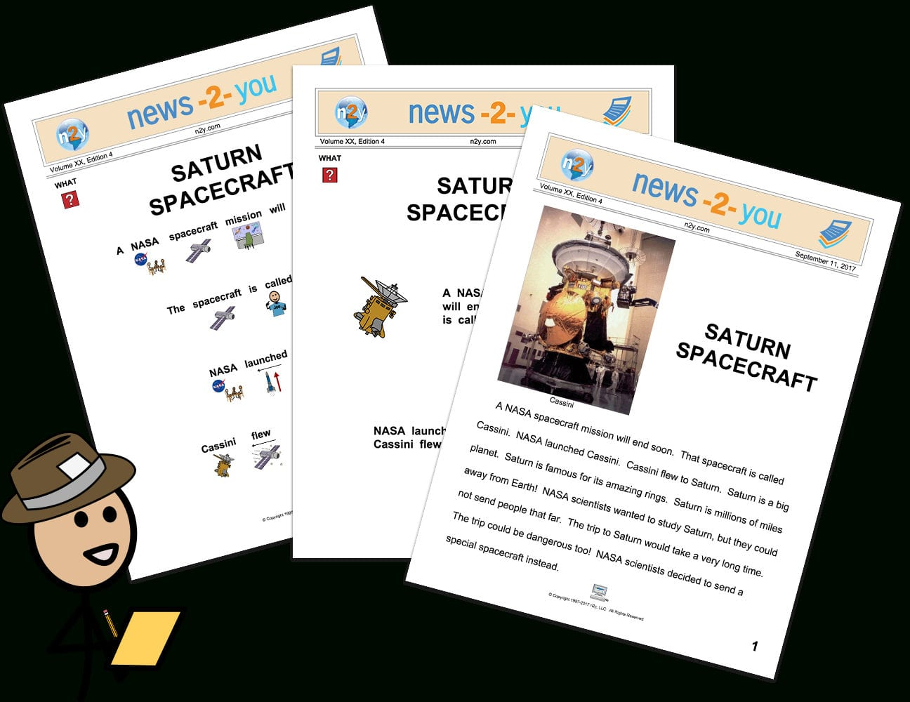News2You Special Education Newspaper  Activities  N2Y Intended For News 2 You Worksheets