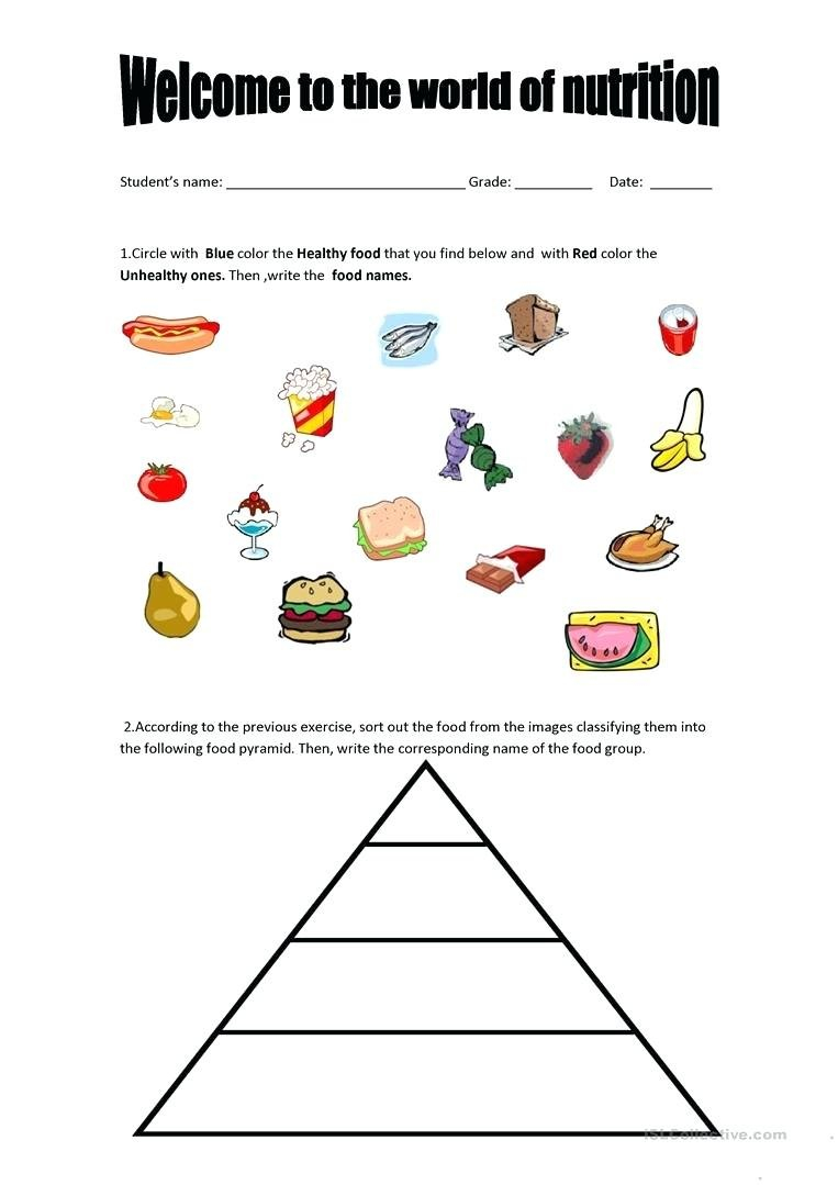 Nutrition Worksheets Middle School Nutrition Worksheets Middle Intended For Nutrition Worksheets Middle School