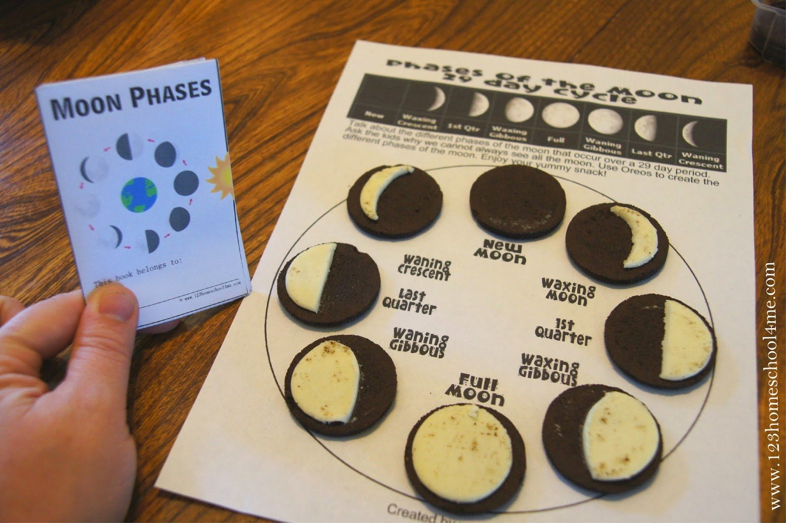 Phases Of The Moon Printable Worksheets 87 Images In Collection Throughout Phases Of The Moon Printable Worksheets