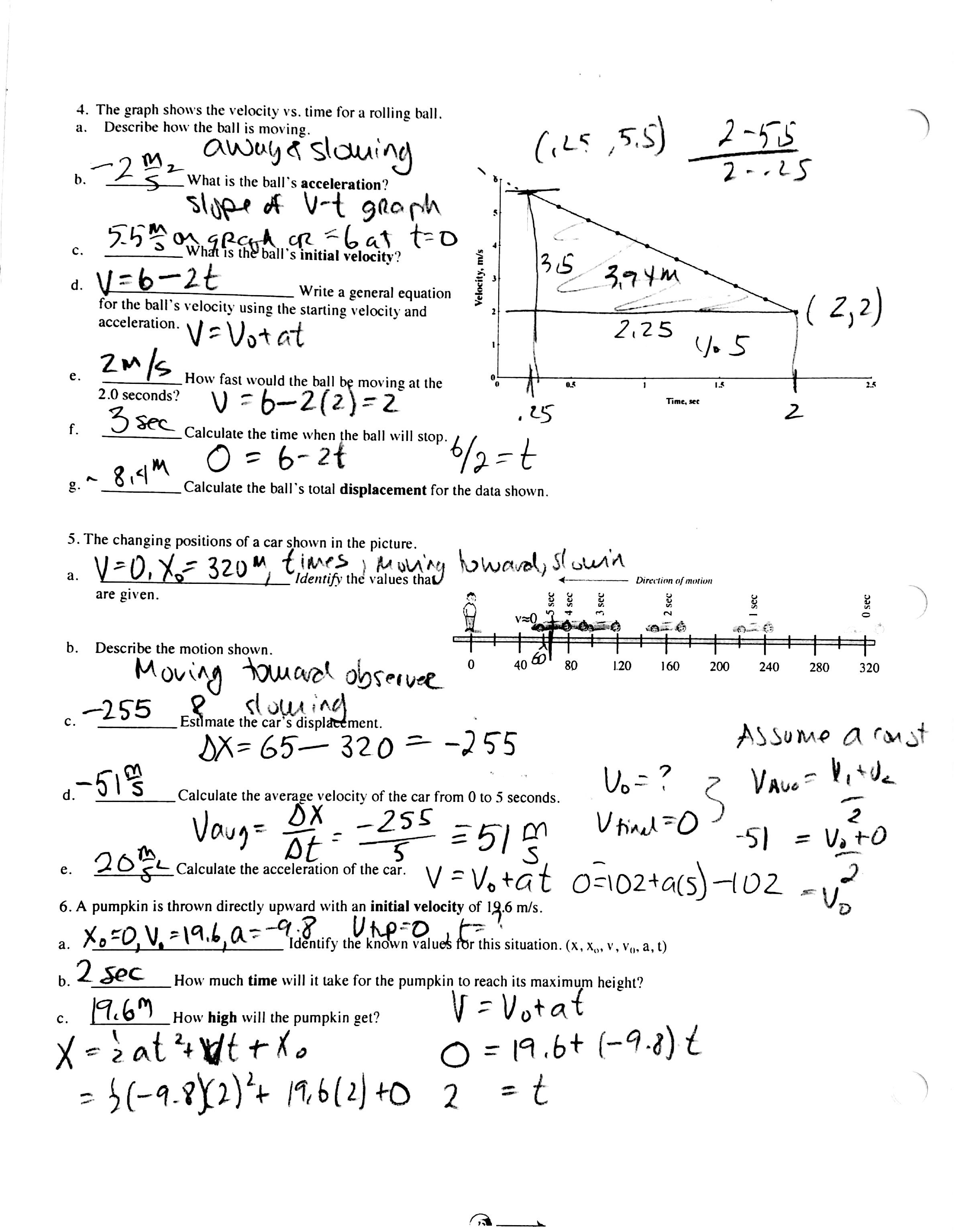 Physical Science Worksheet Conservation Of Energy 2 Answer  Grad And Physical Science Worksheet Conservation Of Energy 2 Answer Key