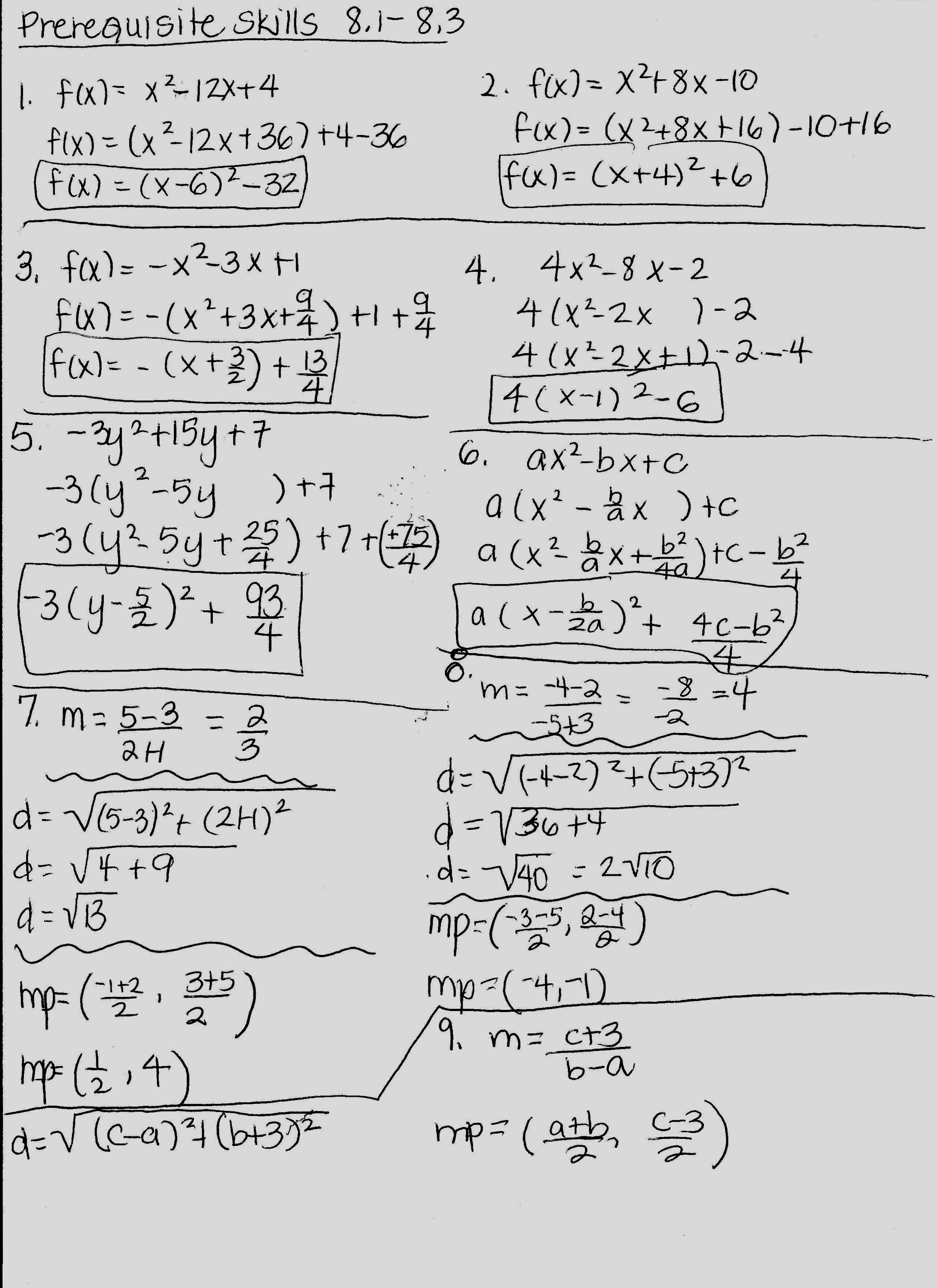 Precalculus Honors  Mrs Higgins Throughout Precalculus Worksheets With Answers Pdf