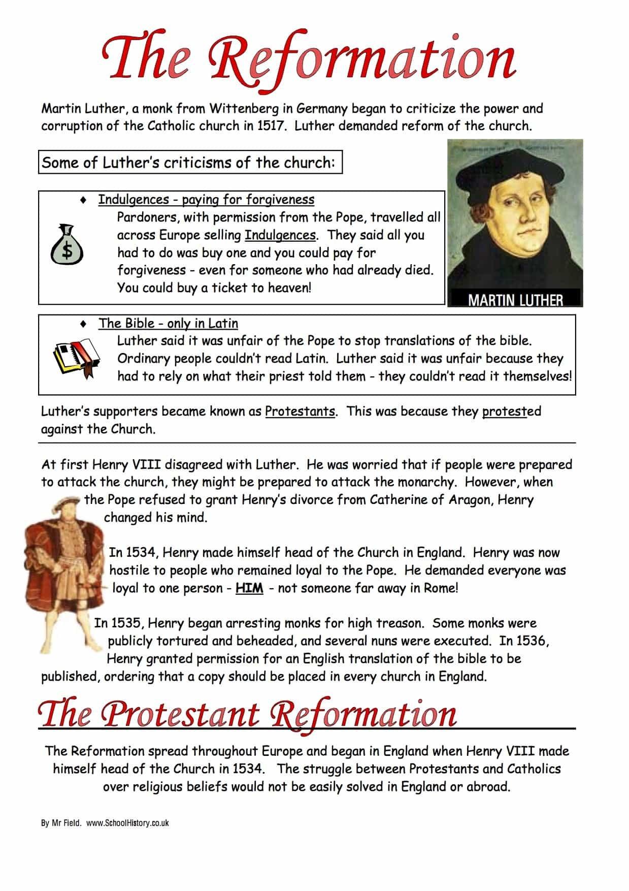 Protestant Reformation Worksheet Pdf As Coordinate Plane Worksheets Throughout Protestant Reformation Worksheet Answers