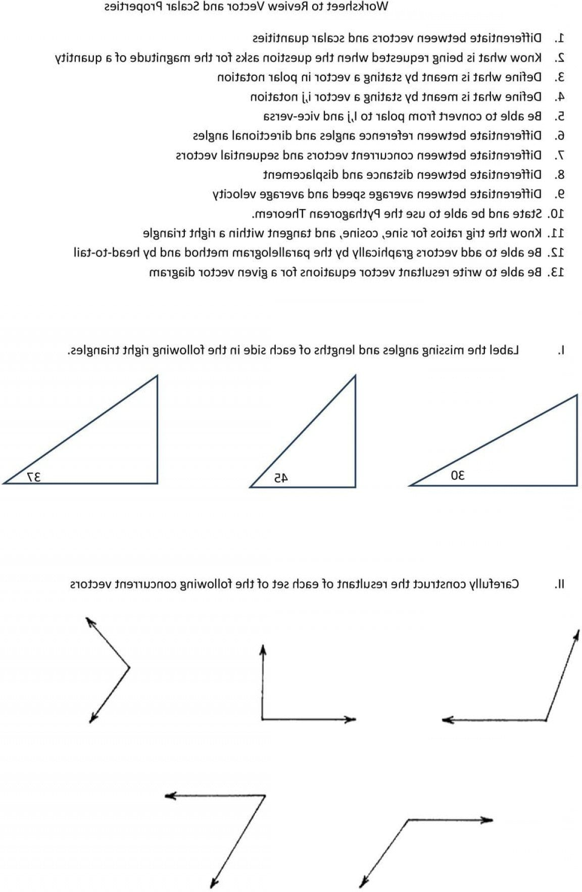 Pythagorean Theorem Vectors  Geekchicpro Together With Pythagorean Theorem Review Worksheet