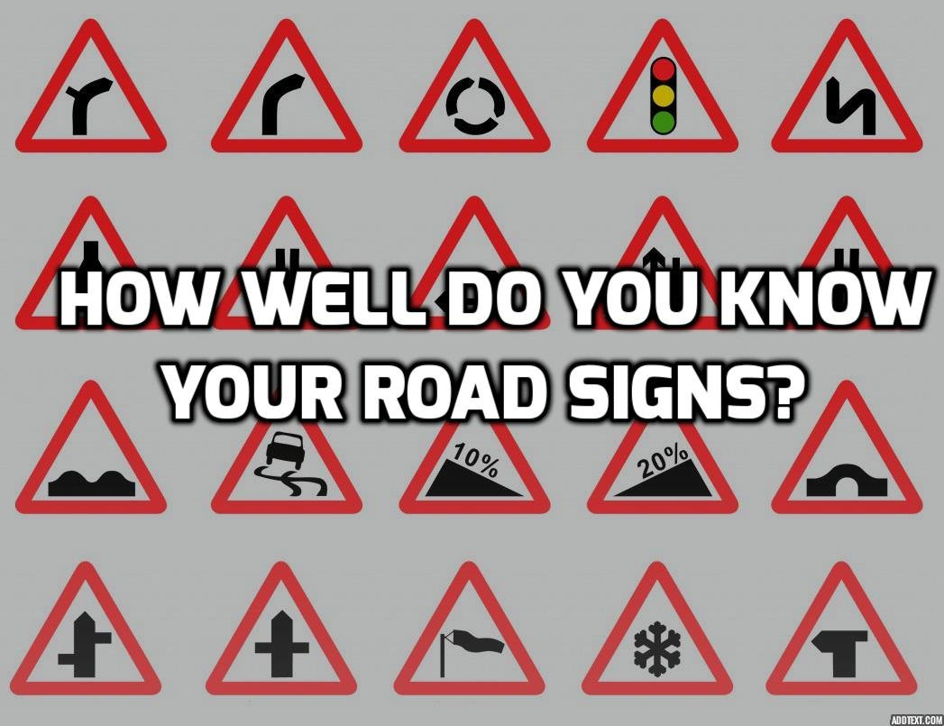 Road Signs Quiz Test Your Knowledge Of Uk Road Signs Pertaining To Drivers Ed Signs Worksheet