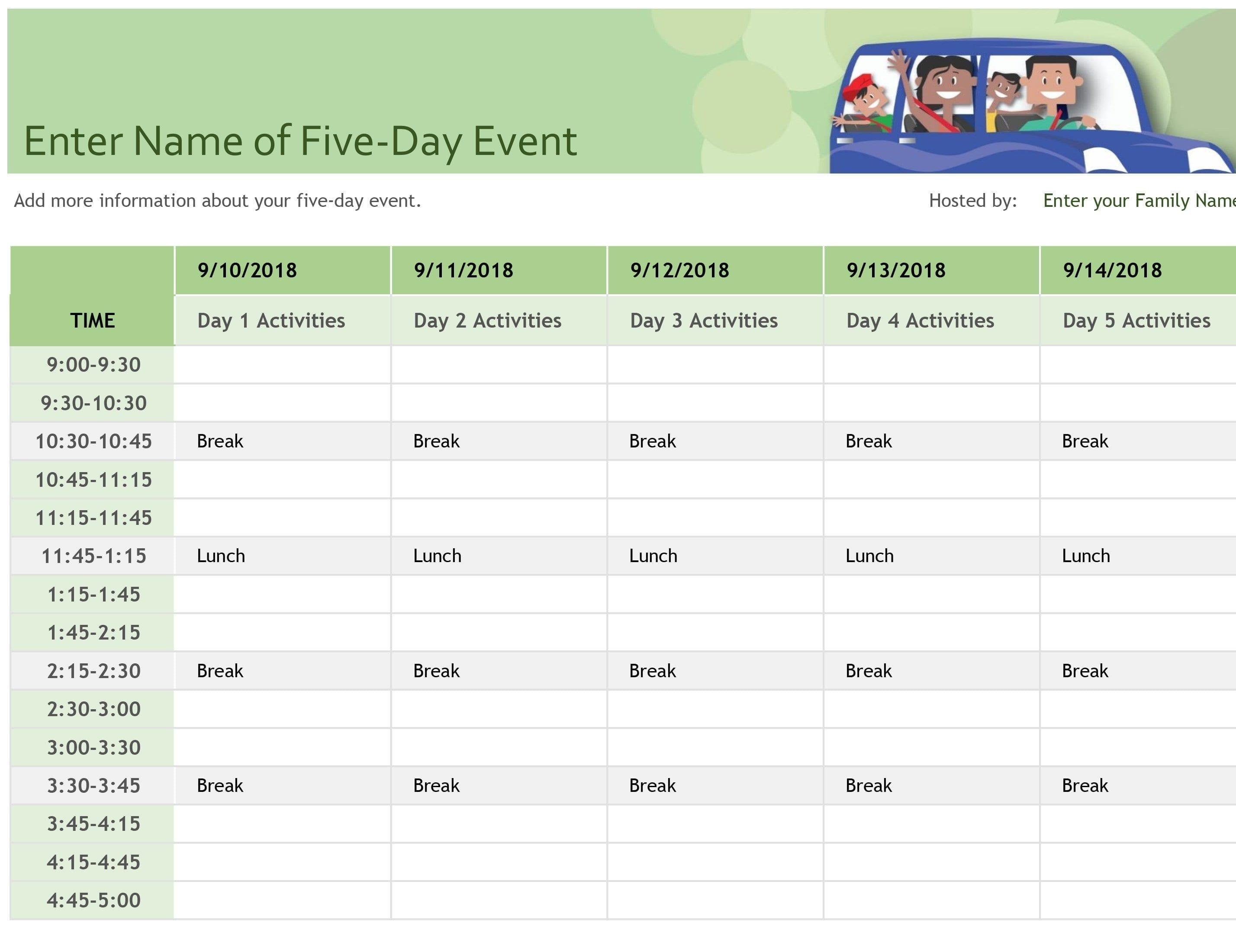 Schedules  Office With Regard To Schedule Worksheet Templates