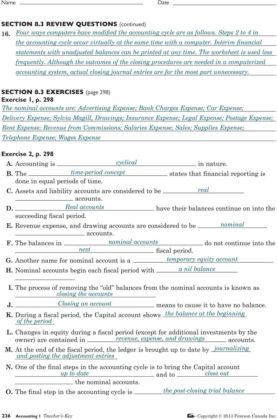 Section 81 Review Questions Page 275  Pdf As Well As Computer Basics Worksheet Section 8
