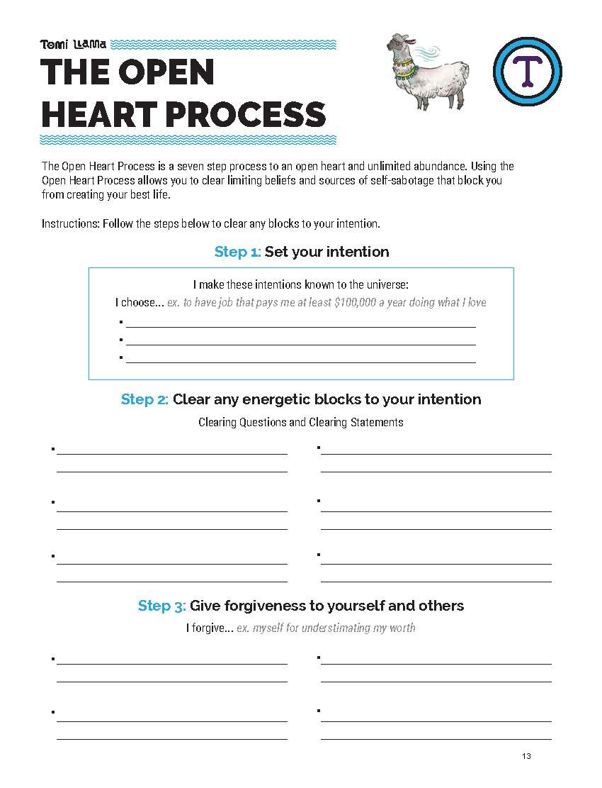 Selfsabotage The Definitive Guide  Worksheet — Tomi Llama Live As Well As Self Forgiveness Worksheet