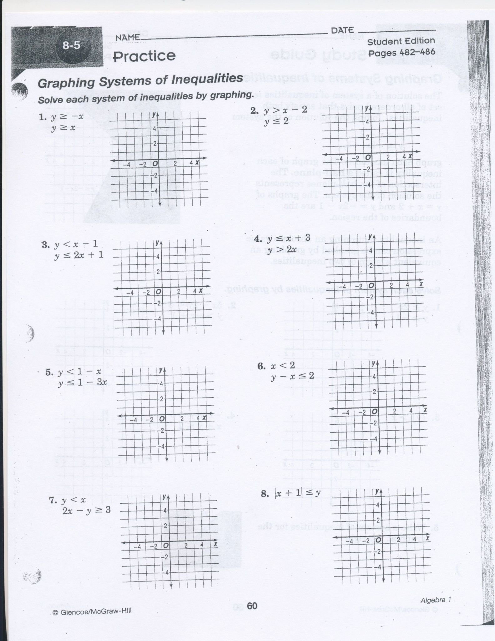 Solving Systems Of Equations Word Problems Worksheet Answer Key Along With Graphing Systems Of Equations Worksheet Answer Key