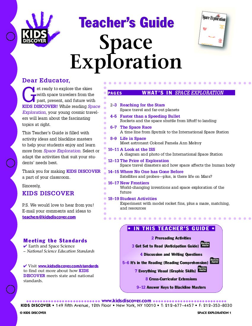 Space Exploration Worksheets For Middle School The Best Worksheets For Space Exploration Worksheets For Middle School