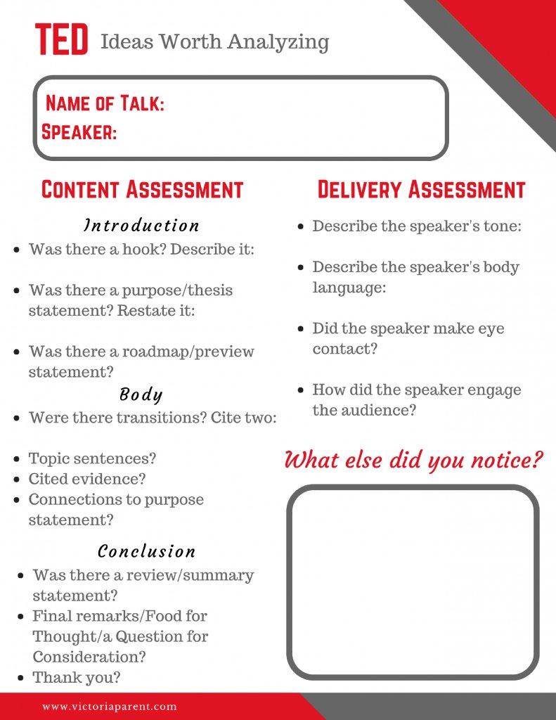Tedx My Flipped Ted Talk Worksheet Beautiful Pre K Math Worksheets Or Ted Talk Worksheet
