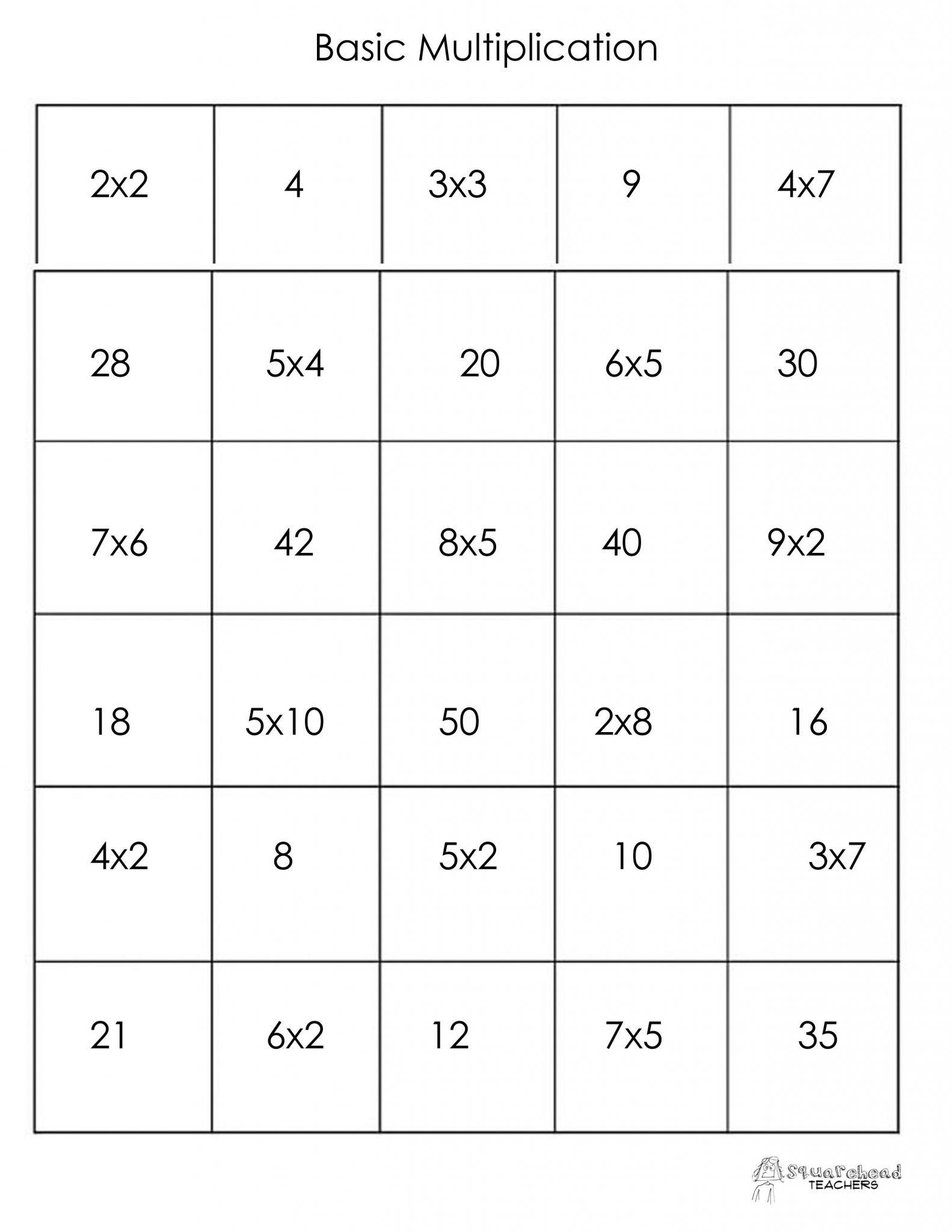 Thanksgiving Math Multiplication Worksheet  Briefencounters With Thanksgiving Math Multiplication Worksheet