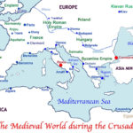 The Crusades To The Holy Land As Well As The Crusades Map Worksheet Answers