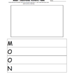 The Moon K3 Theme Page At Enchantedlearning As Well As Phases Of The Moon Printable Worksheets