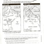 Topographic Map Reading Worksheet Answer Key  Briefencounters With Regard To Map Skills Worksheets Middle School